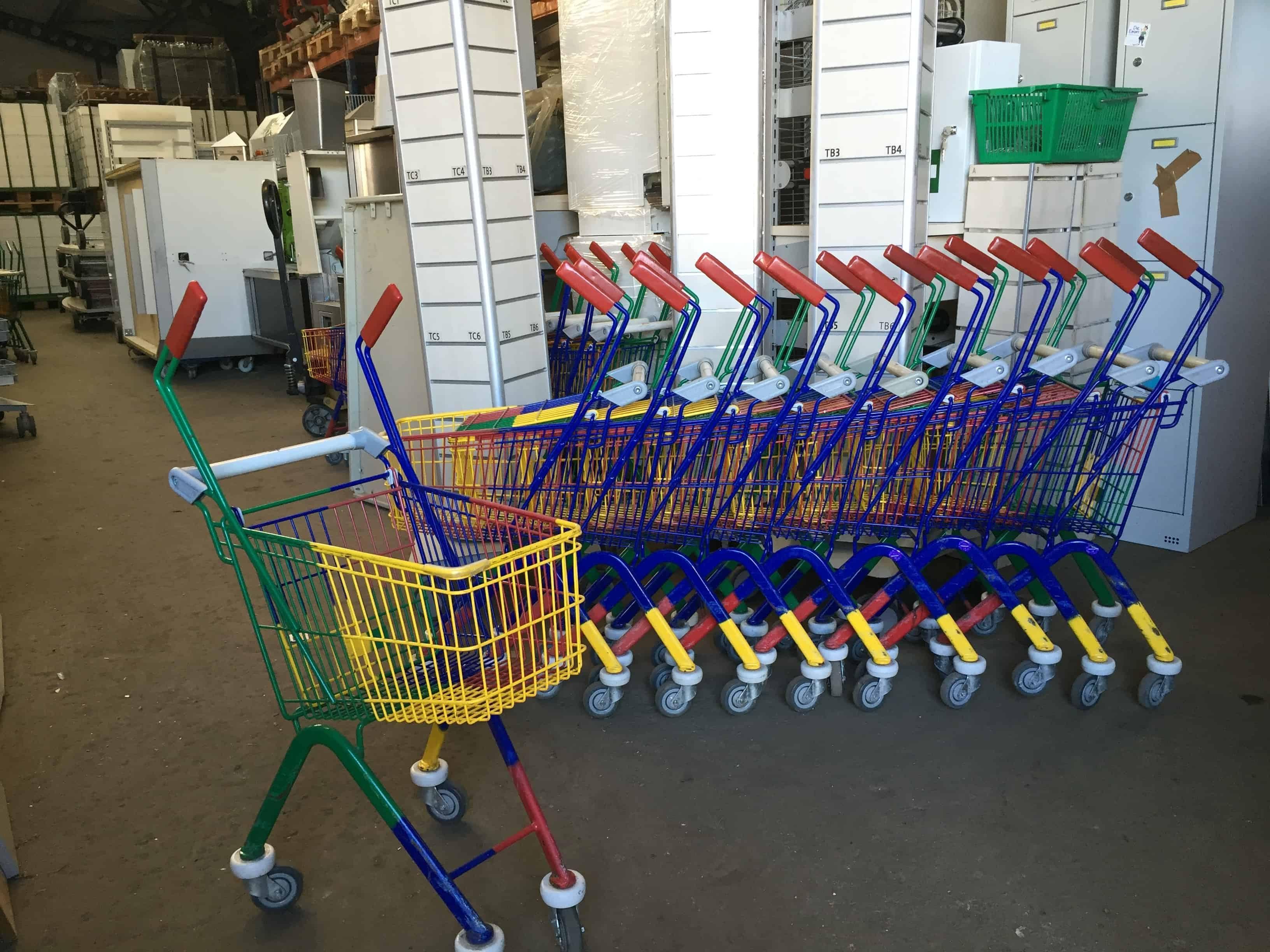 Wanzl EL 22 gyerek bevásárlókocsi